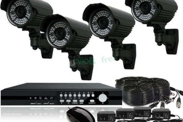 CCTV Cameras with DVR